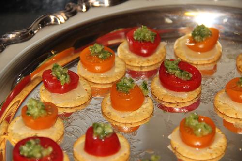 Tomato Scape Canapes